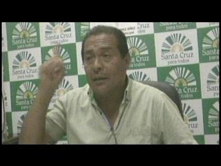 Santa Cruz: Concejal Porcel anuncia otra demanda contra líder gremial Jesús Cahuana