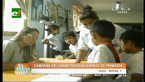 Santa Cruz: Darán carnés de salud a alumnos
