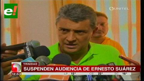 Suspenden audiencia de Suárez por presunta malversación de fondos