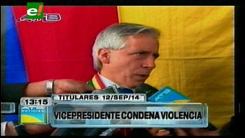 Titulares: Vicepresidente condena agresiones de Comandante policial a su esposa