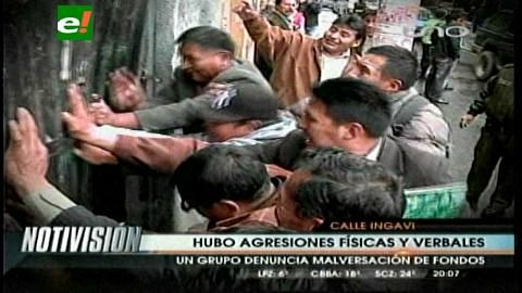 La Paz: Intento de toma de Assclapol deja tres esposas de policías heridas