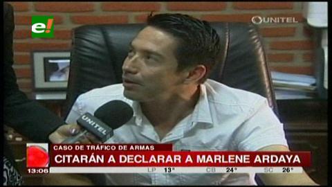 Citarán a declarar a Marlene Ardaya y Mario Cronembold