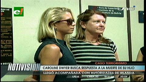 Madre de Dwyer presente en audiencias del caso Rózsa