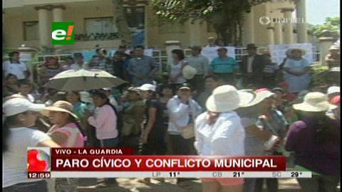 La Guardia: Paro cívico por conflicto edil