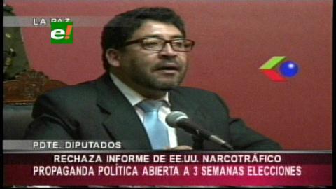 Elío: Estados Unidos hace propaganda política abierta para la oposición