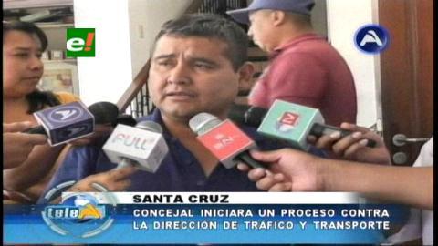 Anuncian proceso contra la Alcaldía de Santa Cruz por aplazar uso de taxímetros