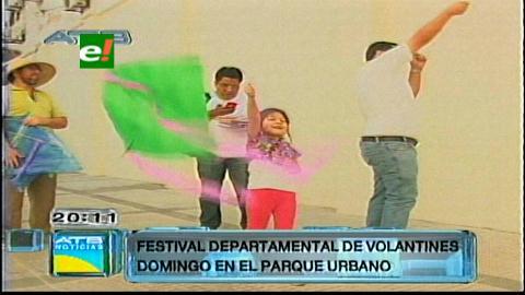 Este domingo habrá festival del volantín