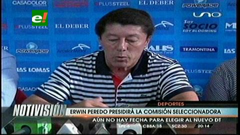 Erwin 'Happy' Peredo presidirá la comisión seleccionadora de la FBF