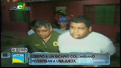 Liberación de colombiano: Anuncian auditoría contra juez Gentile