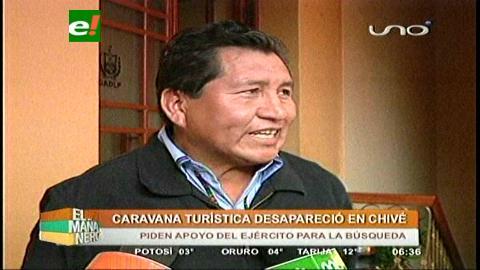 Desaparece una caravana turística en Chivé