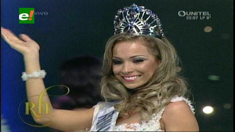 Miss Bolivia, Romina Rocamonje es la Reina Hispanoamericana 2014