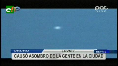 ¿Un OVNI en Oruro?