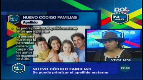Diputada Paco explica los alcances del nuevo Código de Familias