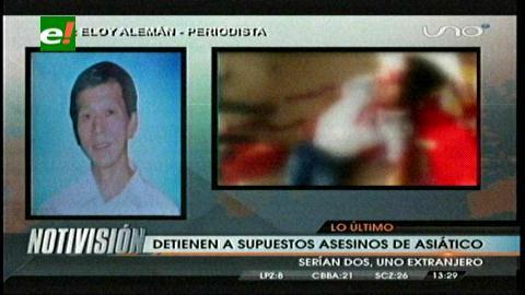 Dos detenidos por asesinato del chino Lin