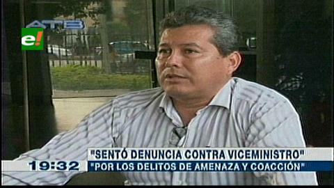 Fiscalía cruceña: Coronel Cardona denunció a Jorge Pérez por amenazas y coacción