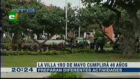 La Villa 1ro de mayo prepara actos previos a su aniversario