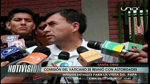 Comisión del Vaticano se reunió con las autoridades nacionales