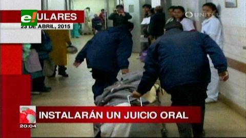 Titulares de Tv: Instalarán el juicio oral a los 20 involucrados por la matanza en Palmasola