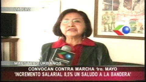 """Maestros marcharán este 1º de Mayo contra la """"burocracia sindical"""""""
