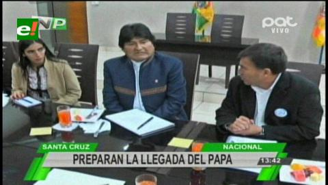 Darán recursos a Santa Cruz para recibir al Papa