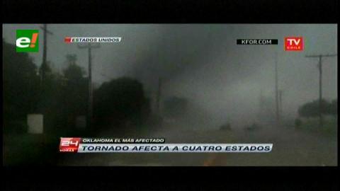 Tornados azotan el centro y sur de EEUU