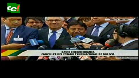 Demanda marítima: Choquehuanca confía en que se hará justicia