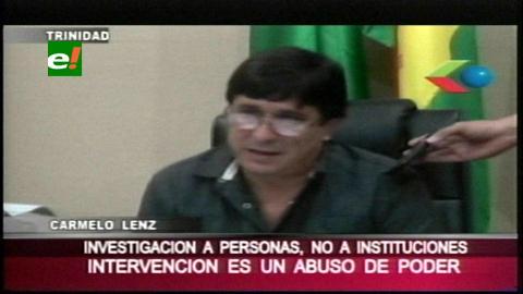 Lens narró cómo fue allanada su oficina: »Las instituciones no cometen delitos»