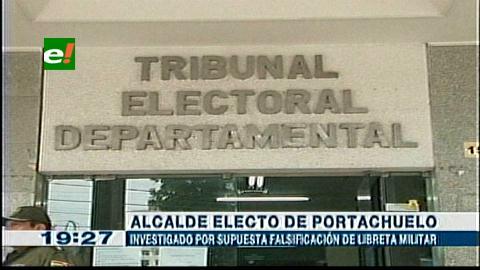 Denuncian por falsificación al alcalde electo de Portachuelo