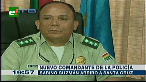 Nuevo comandante de Policía aplicará 'plan antiasaltos' en Santa Cruz