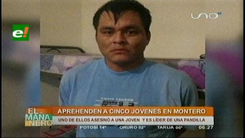 Cae líder de pandilla acusado de matar a una joven en Guabirá