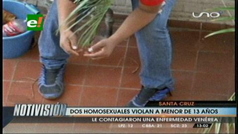 Menor de 13 años fue violado por homosexuales