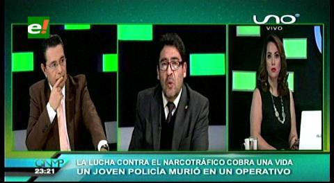 Viceministro Elío: La Justicia no acompaña en la lucha contra el narcotráfico
