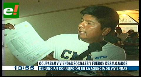 Desalojaron a adjudicatarios: Denuncian corrupción en la Agencia Estatal de Vivienda
