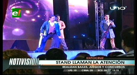 Expocruz 2015: Los shows impactan en la primera noche de feria