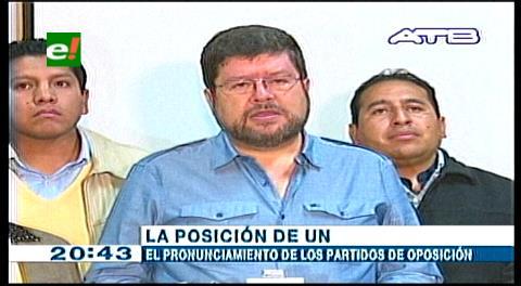 Doria Medina asegura que el No venció en los 5 departamentos