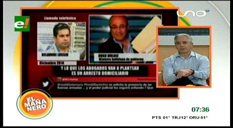 Vicepresidente justifica a Jorge Pérez y dice que sus conversaciones con Belaúnde no son ilegales