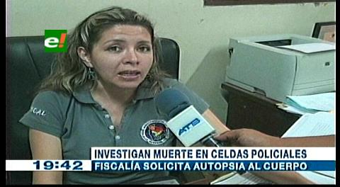 Felcc Investigan muerte de un joven en una celda
