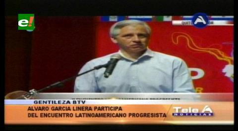 García Linera: La batalla por las ideas sostendrá la continuidad del proceso revolucionario en la región