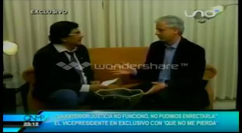 La mentira del Vice: Desde el 2012, García Linera aseguró que no volvería a ser candidato