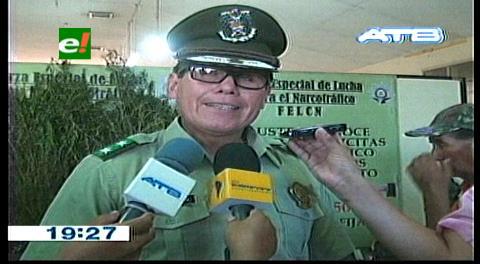 Felcn: Cuatro operativos dejó más de 310 kilos de droga en Santa Cruz