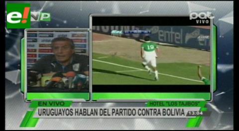 """Óscar Tabárez: """"Nosotros jugaremos en desventaja"""""""