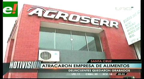 Atracan una empresa de alimentos por la zona de la Pampa