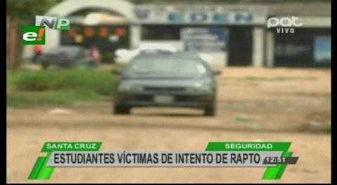 Directora denuncia intento de rapto a dos niñas escolares