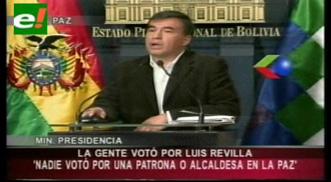 """Quintana arremete contra Maricruz, esposa del alcalde; admite que votó por Revilla y no """"por una patrona"""""""