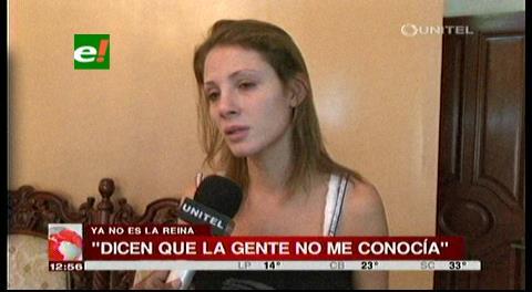 """Valeria Saucedo: """"Los Pichones me dañaron emocional y psicológicamente"""""""