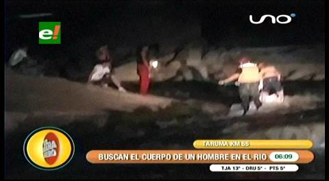 Dos hombres desaparecidos en el río Taruma