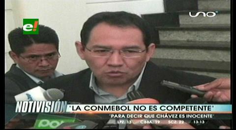 """Fiscal General: """"La Conmebol no es competente para decir si Chávez es o no inocente"""""""