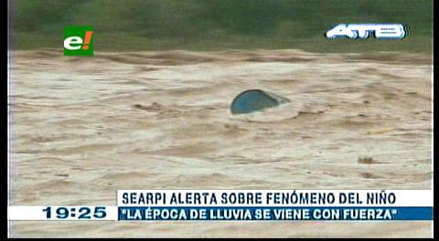 Searpi: Ingresaron las lluvias y Alerta Temprana está trabajando