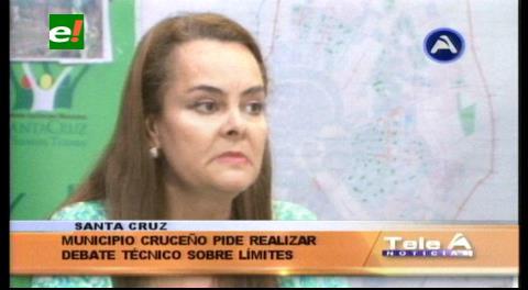 Sobre límites con Warnes: Alcaldía cruceña convoca a debate técnico