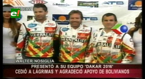 """Equipo Nosiglia vuelve a soñar y """"calienta motores"""" para el Dakar 2016"""